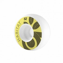HABITAT WREATH LOGO 52MM ( jeu de 4 )