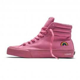 Straye Footwear Venice Hi Rainbow Pink