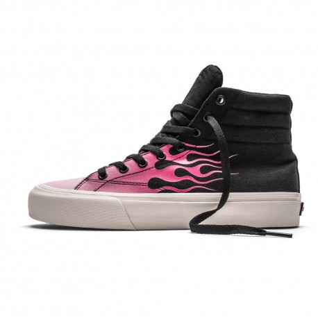 Straye Footwear Venice Hi Pink Flame