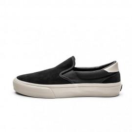 Straye Footwear Ventura Black/Bone Suede
