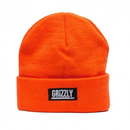 Bonnet Grizzly stamp Fold orange