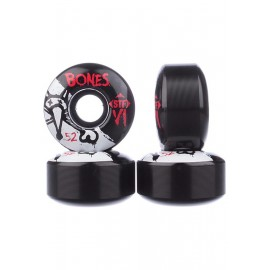BONES WHEELS  STF V1 Series 52mm 83B Black