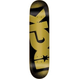 DGK O.G. Logo Deck Black/Gold 8.1""