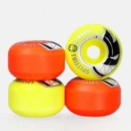 SPITFIRE big head mashup orange yellow 99A 54 mm ROUES ( jeu de 4 )