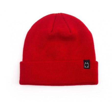 Bonnet WKND Classic Cuff Beanie - Red