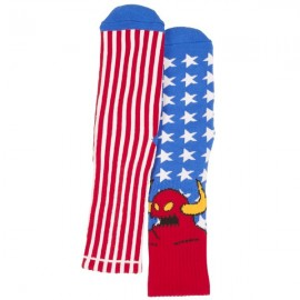 TOY MACHINE SOCKS AMERICAN MONSTER USA
