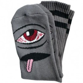 TOY MACHINE SOCKS BLOODSHOT EYE BLACK