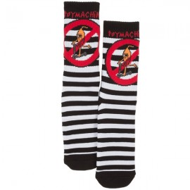 TOY MACHINE SOCKS NO SCOOTER STRIPED