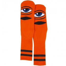 TOY MACHINE SOCKS SECT EYE III ORANGE
