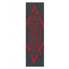 Mob Thrasher griptape outline red