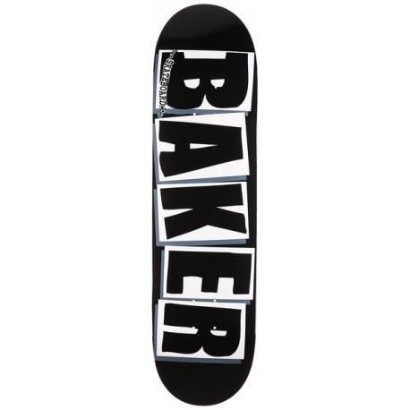BAKER DECK BRAND LOGO BLK WHT 8.25