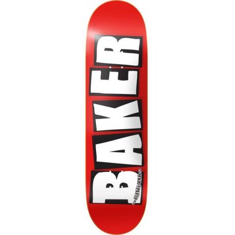 BAKER DECK BRAND LOGO WHITE 8.5