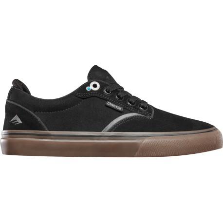 Emerica Dickson BLACK/GUM - Chaussures de skateboard