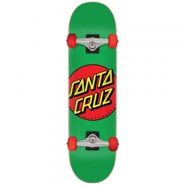 Santa Cruz Classic Dot Mid Complete Skateboard 7.8