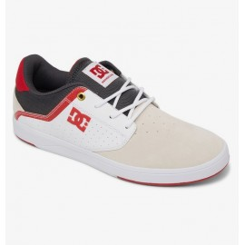 DC shoes PLAZA TC SP white/grey/red - Chaussures de skateboard