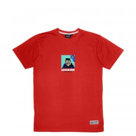 Jacker A.C.A.B. - T-SHIRT - RED