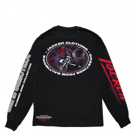 Jacker BALTIMORE - LONG SLEEVES - BLACK