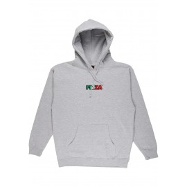Pizza Skateboards Tri Logo HD Hoodie (grey)