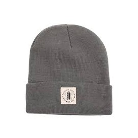 Traffic - Burst Label Acrylic Beanie - bonnet grey
