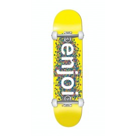 Enjoi Candy Coated Complete Skateboard - Yellow 8.25""
