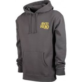 antihero sweat hood lil blackhero charcoal