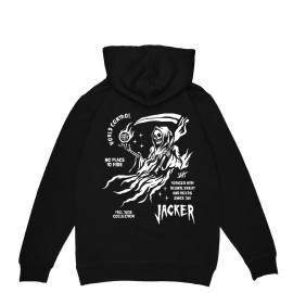 Jacker NO PLACE - HOODIE - BLACK Sweat shirt
