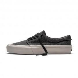 Straye Footwear Fairfax Cheetah Charcoal