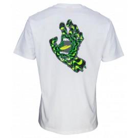 Santa Cruz T-Shirt Kaleido Hand White