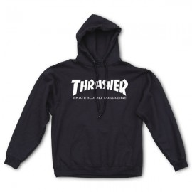THRASHER Skateboard Magazine Sweat shirt black