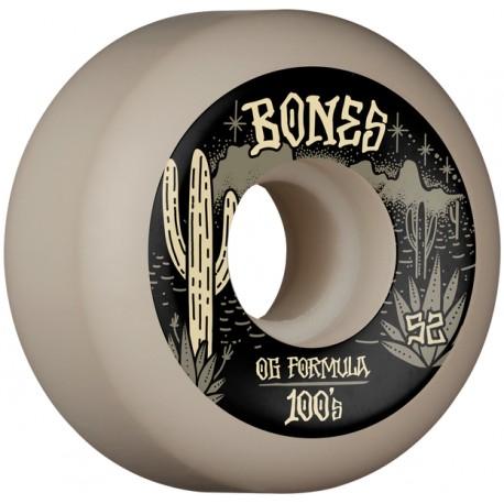 BONES Wheels 100'S DESERT WEST V5 52 MM (jeu de 4)