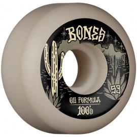 BONES Wheels 100'S DESERT WEST V5 53 MM (jeu de 4)