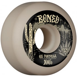 BONES Wheels 100'S DESERT WEST V5 53 MM (jeu de 4)