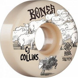 BONES Wheels STF V3 COLLINS 50MM 99A (jeu de 4)
