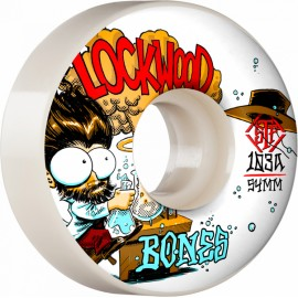 BONES Wheels STF V3 LOCKWOOD XPRIMENTAL 54MM 103A (jeu de 4)