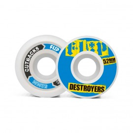 Flip Cutback Destroyers 52mm 99a Blue ( jeu de 4 )