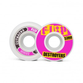 Flip Cutback Destroyers 53mm 99a Pink ( jeu de 4 )