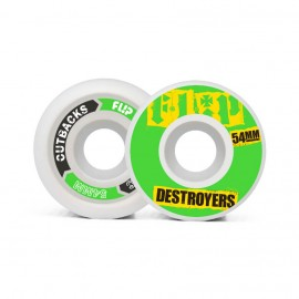 Flip Cutback Destroyers 54mm 99a Green ( jeu de 4 )