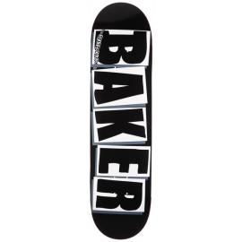 BAKER DECK BRAND LOGO BLK WHT 8