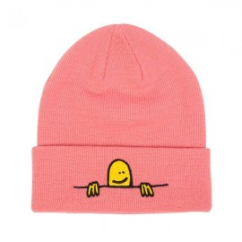 Bonnet THRASHER BEANIE GONZ SAD LOGO LIGHT PINK