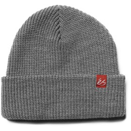 és block Beanie bonnet grey