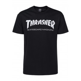 THRASHER  Skateboard Magazine T-shirt, black