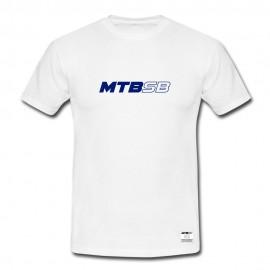 MTBSB logo sb T-shirt, white