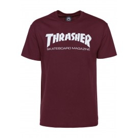 THRASHER  Skateboard Magazine T-shirt, Maroon