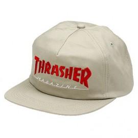 THRASHER Magazine Logo Two Tone hat, Casquette