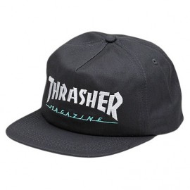 THRASHER Magazine Logo Two Tone grey hat, Casquette