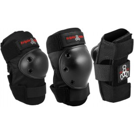 Triple Eight Adult Set, Pack de protections, black