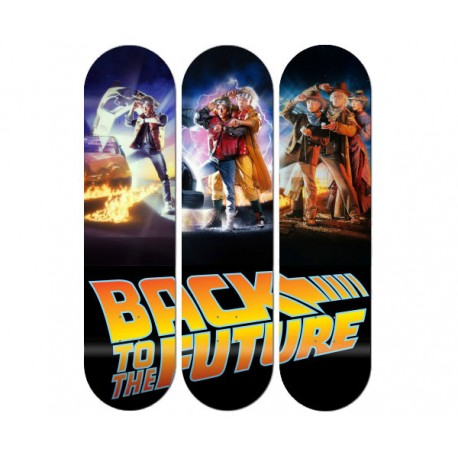 Triptyque Back to the future