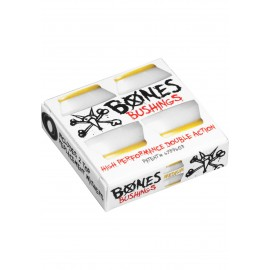 BONES WHEELS Bushings 91A Hardcore Medium Gommes, white