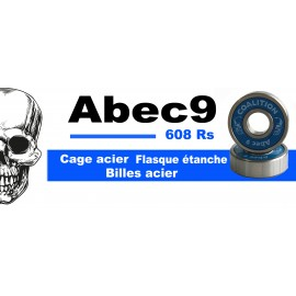 Roulements Coalition Bearing Abec 9