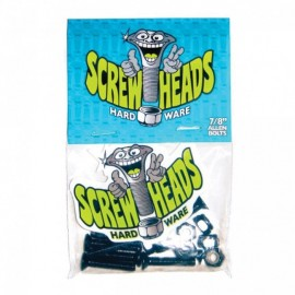 Visserie Screwheads 7/8' pour skate